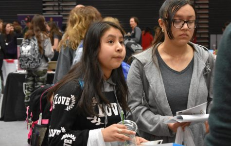 Students take on College and Career Expo
