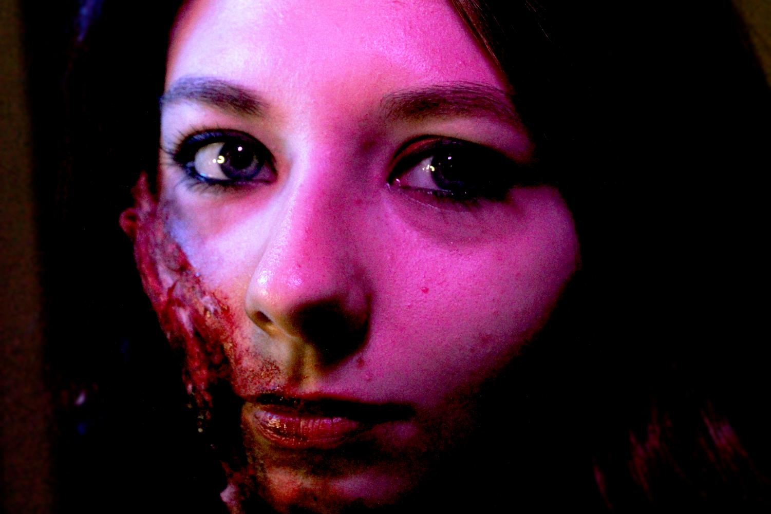 Piper Spengel has expressed her passion for special effects makeup since sixth grade. She tries to stop herself each year by upping the gore and the concept behind it.