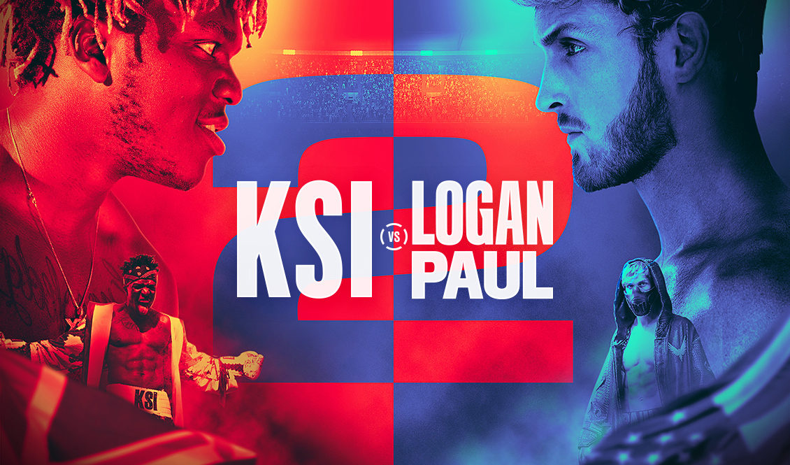 On the heels of last year's fight, YouTube stars KSI and Logan Paul will face off on another boxing match on November 9
