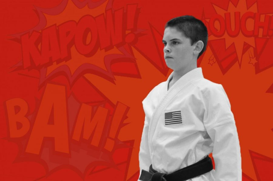 East Campus sophomore Liam Krater began karate when turned five years old. In 2018, he won first place for the kata competition in the Illinois state tournament.