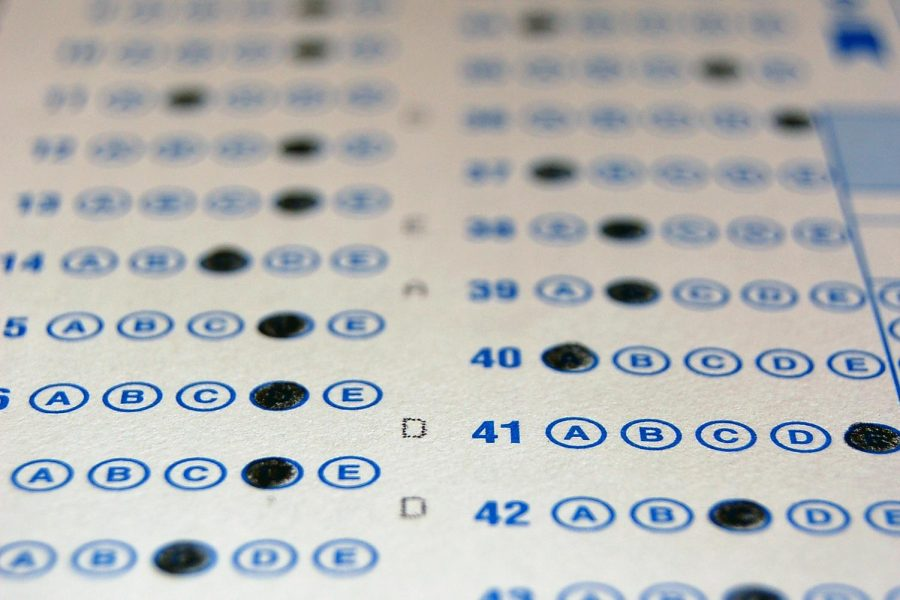 MCHS students take two standardized tests during their junior year—the Preliminary SAT in the fall and the official SAT in the spring.
