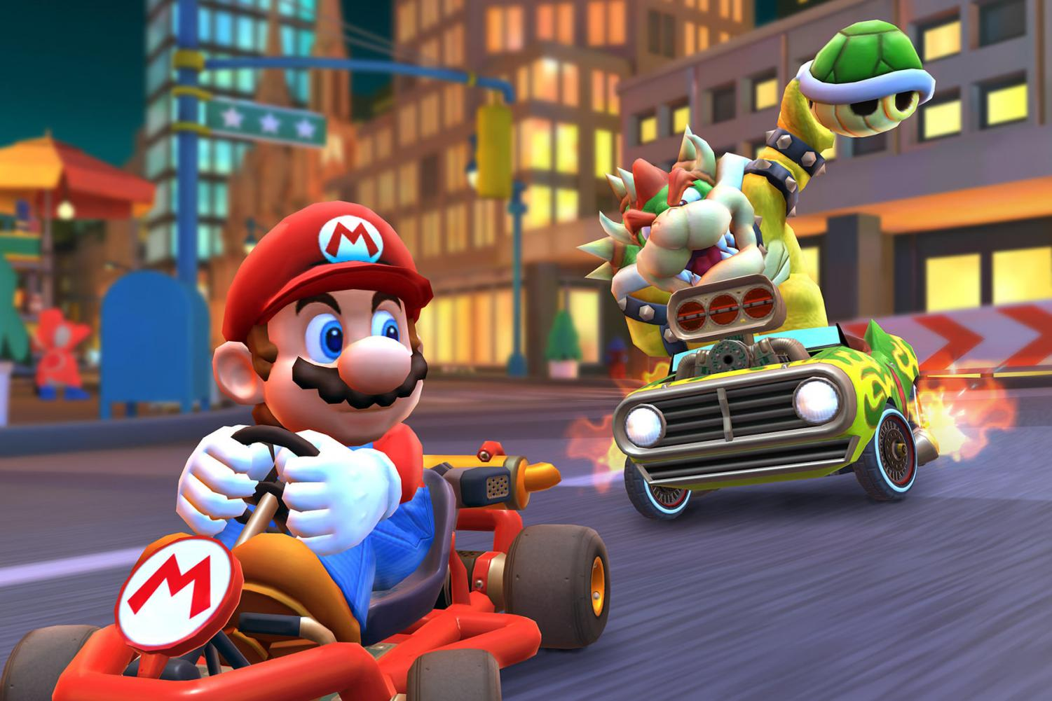 """""""Mario Kart Tour"""" was released to Apple's App Store and Google's Play Store on September 25. The game has been a big hit with students at East and West."""