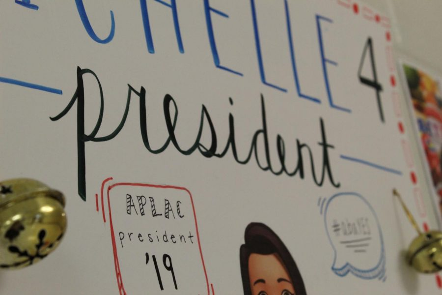 APLAC students run for president