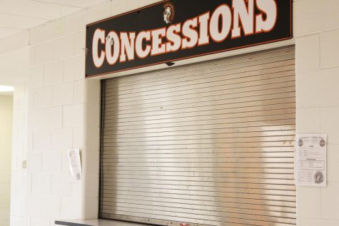 The window is closed on popular Hidden Pearl coffee shop at West Campus. The shop moved to make room for the Booster Club.