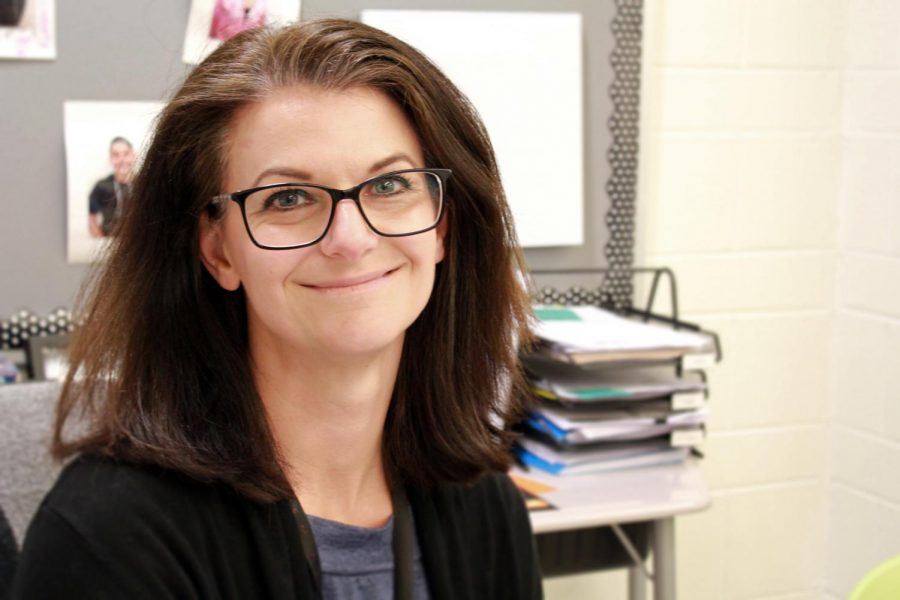 Rachel Hanson has taught special education for 14 years, though this is only her second year working at West Campus.