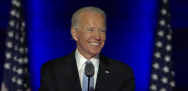 President-elect+Joe+Biden+celebrates+his+election+victory+in+a+speech+on+November+9+to+the+American+public.+During+his+transition%2C+Biden+has+continued+to+preach+unity+between+political+parties%E2%80%94a+key+campaign+message.