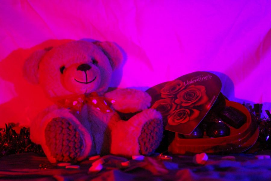 Gifts such as candy and a teddy bear can show a person you care about them — or they could be a way of projecting to your followers on social media that you are sweet. Is that what Valentine's Day is all about?