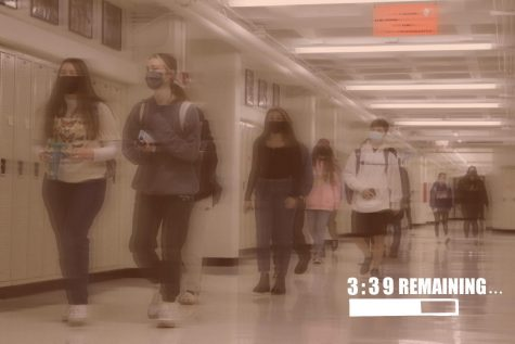 The four minutes that students have between passing periods are meant to keep kids from congregating in the halls, but that missing minute has also made it more difficult to get to class on time.