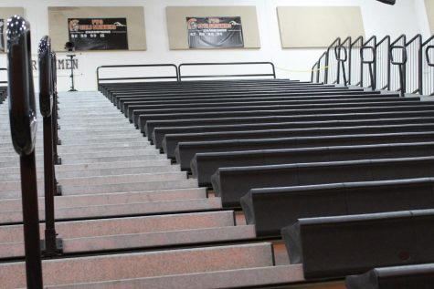 The bleachers at West Campus were crammed full of screaming students a decade ago. So what happened to pep assemblies — and why aren