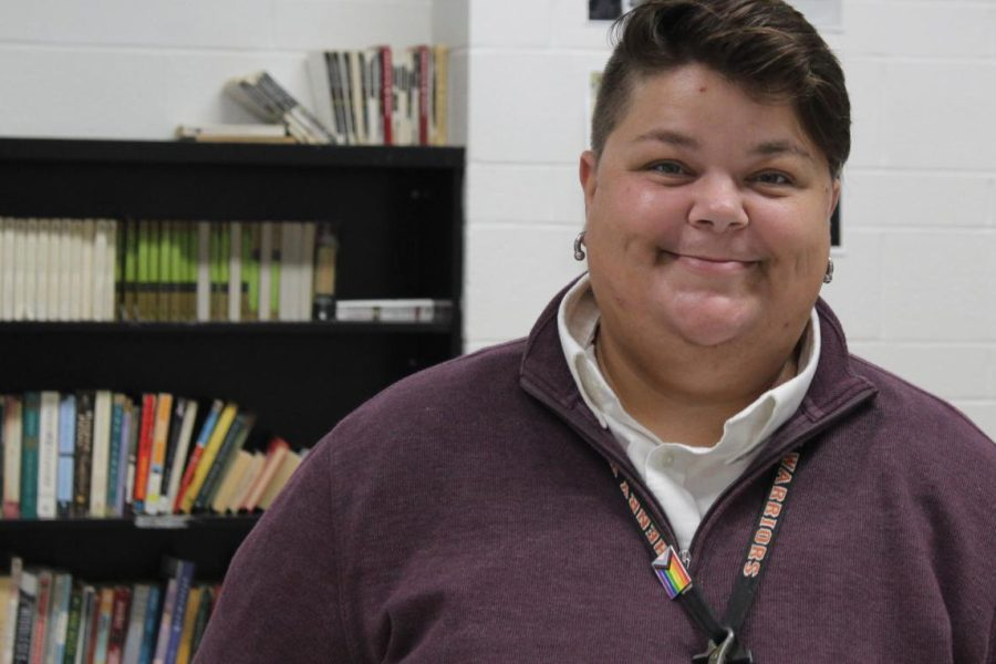 Cara Vandermyde embraces differences and encourages growth and acceprance in her classroom and within the MCHS community.